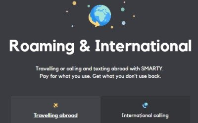 SMARTY Roaming