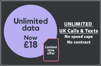 SMARTY Unlimited Data November 2020 Offer