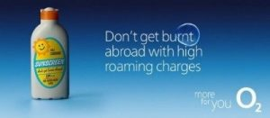 O2 Mobile International roaming