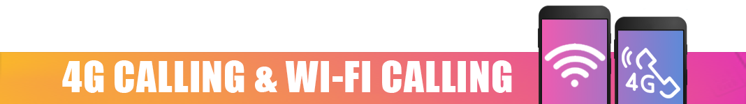 giffgaff 4G Calling and Wi-Fi Calling