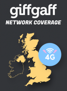 giffgaff network coverage