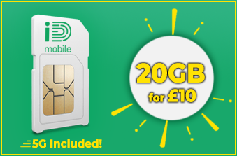 iD Mobile 20GB July Offer