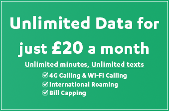 iD Mobile's October 2020 Offer - Unlimited Data