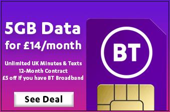 BT Mobile December 2020 Offer