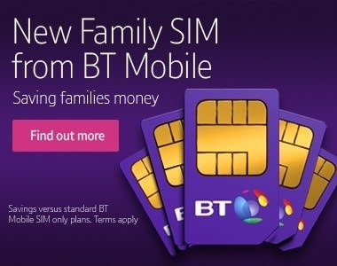BT Mobile Multi Buy Discounts