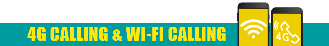 EE 4G Calling and Wi-Fi Calling