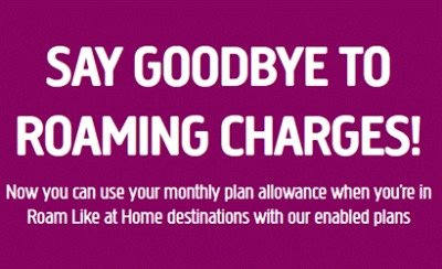 Plusnet Mobile International Roaming