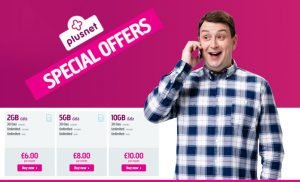 Plusnet latest offer