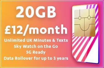 Sky Mobile February 2021 Offer