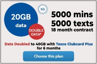 Tesco Mobile April 2021 Offer