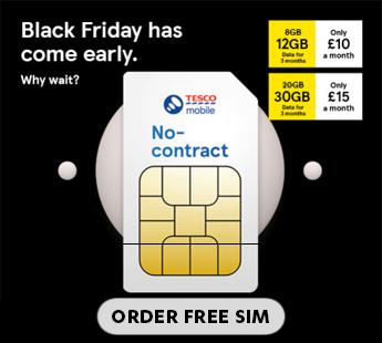 Tesco Mobile Black Friday 2020 Offers