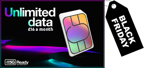Three Cheapest Unlimited Data Ever Black Friday 2020