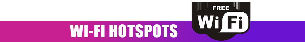 Three WiFi Hotspots
