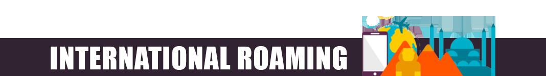 Virgin Mobile International Roaming