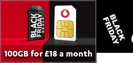 Vodafone Black Friday 2020 100GB