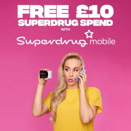 Superdrug customer rewards