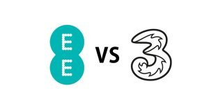EE vs Three review