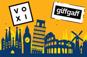 VOXI vs giffgaff international roaming