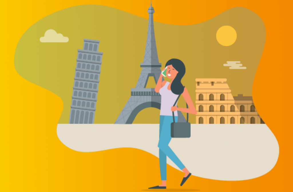 roaming abroad