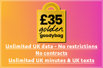 giffgaff New Unlimited Data Plan October 2020
